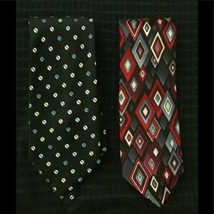 MEN'S TIES BY CLAIBORNE.👔